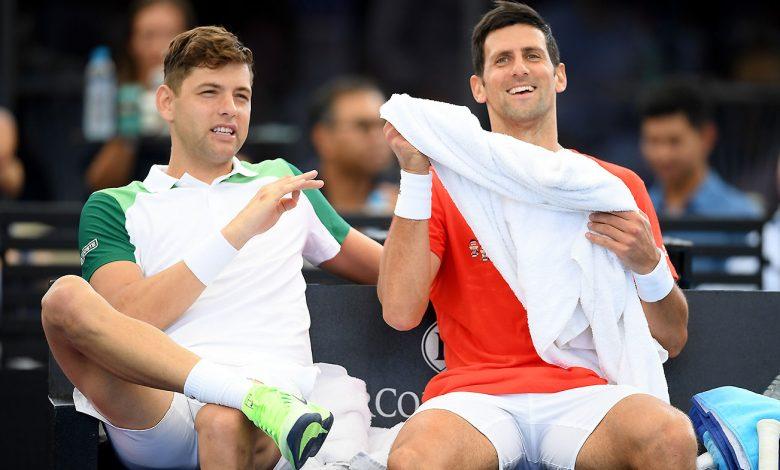 Novak Djokovic retires and makes an impressive comeback midway through the match
