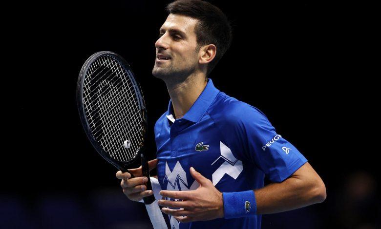 ATP ranking, Djokovic always in command.  Tenth peritine