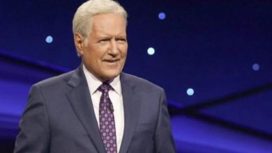 "Photo of Alex Trebek's latest movie ""Jeopardy!""  The episode ends with a passionate tribute"