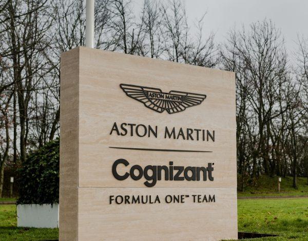 Aston Martin: ufficializzato Cognizant is Formula 1's main sponsor