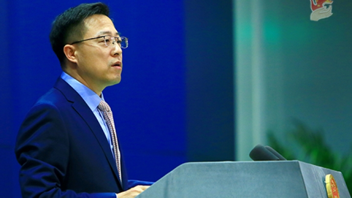 """China urges the United States to adhere to the """"one China"""" principle"""