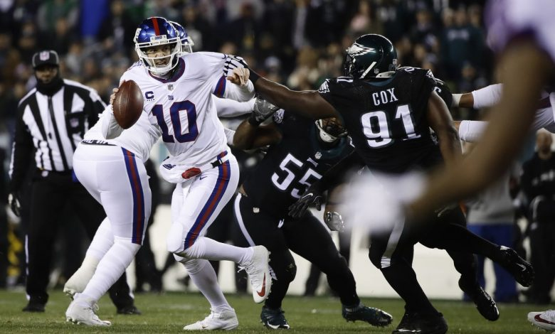 Giants legend Ellie Manning in a quarrel with Fletcher Cox of the Eagles over allegations of perjury