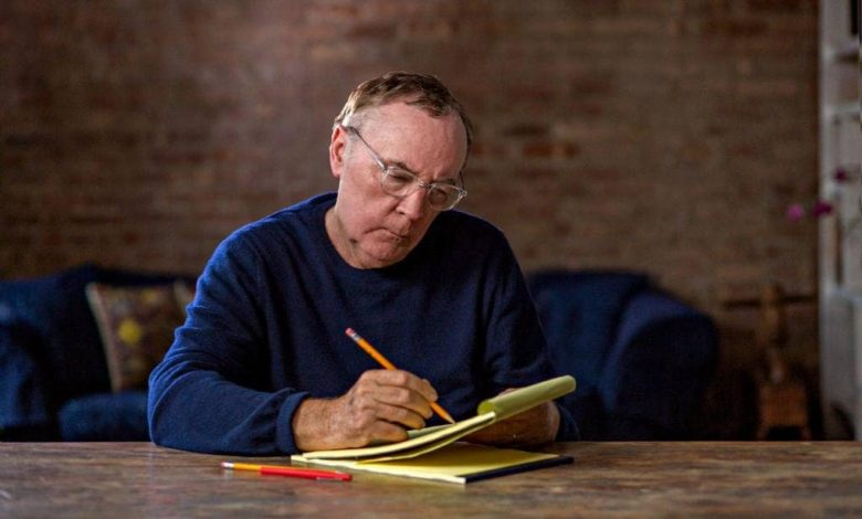 James Patterson has been the best-selling author in the world over the past decade