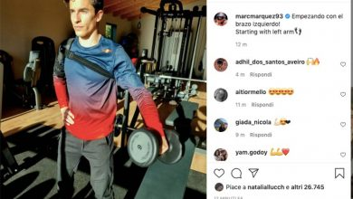 "Photo of MotoGP, Marc Marquez trains his arm in the gym: ""Let's start with the left!"""