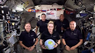 Photo of NASA's International Space Station crew flies into space for the New Year – with the tilt of zero gravity