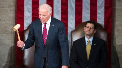 "Photo of Paul Ryan describes Republican party efforts to challenge Biden's victory as ""anti-democratic"""
