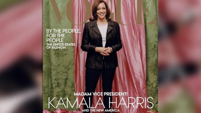 Photo Without Magic of Kamala Harris: Vogue reissues the case