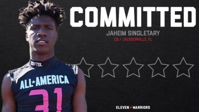 Photo of The Five-Star Team Cornerback Jaheim Singletary is committed to Ohio