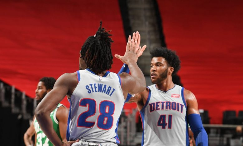 The Pistons vs the Celtics, Final Score: The Pistons remain gritty, earning first wins of the season (updated)