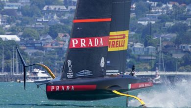 Photo of The boat race between Luna Rossa and Ineos UK has been canceled.  It starts at 4.20