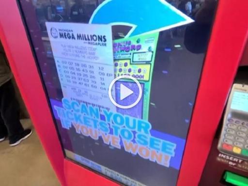 USA, Michigan: Win a billion dollar lottery prize