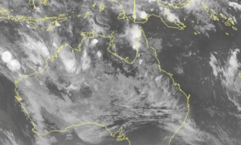 Immagine situazione satellite Australia