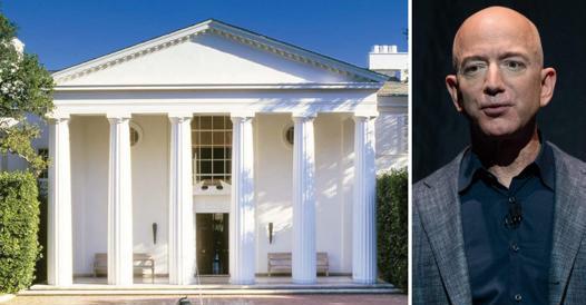 Jeff Bezos and Buen Retiro: a $ 165 million mansion in Los Angeles