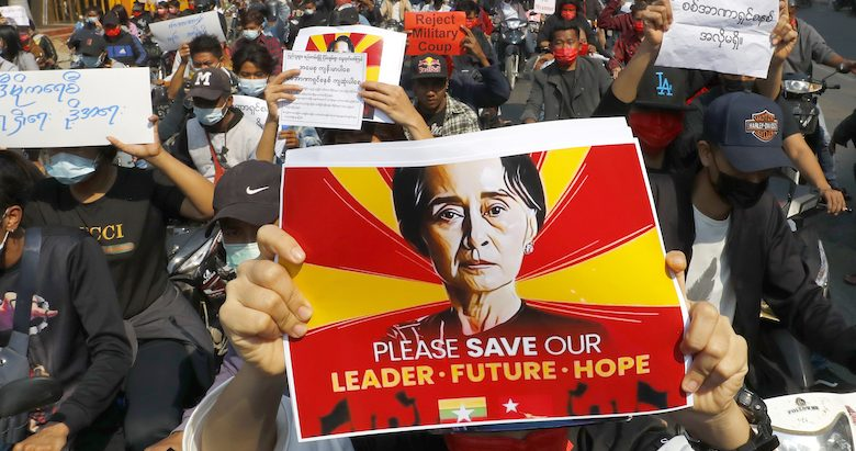 In Myanmar, the protests never stop
