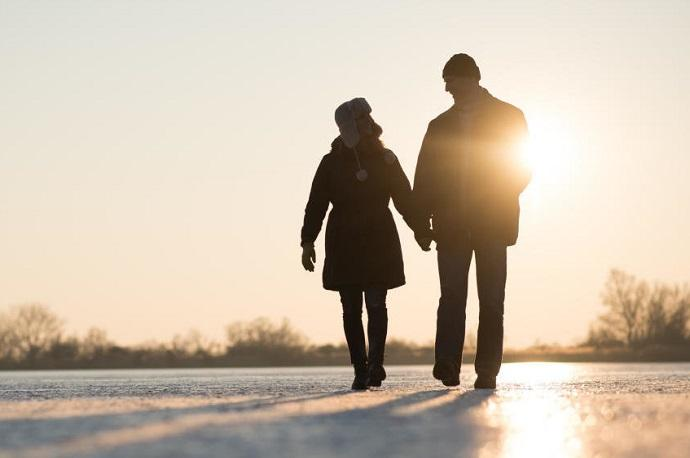 Why should you walk in the open air even in cold weather
