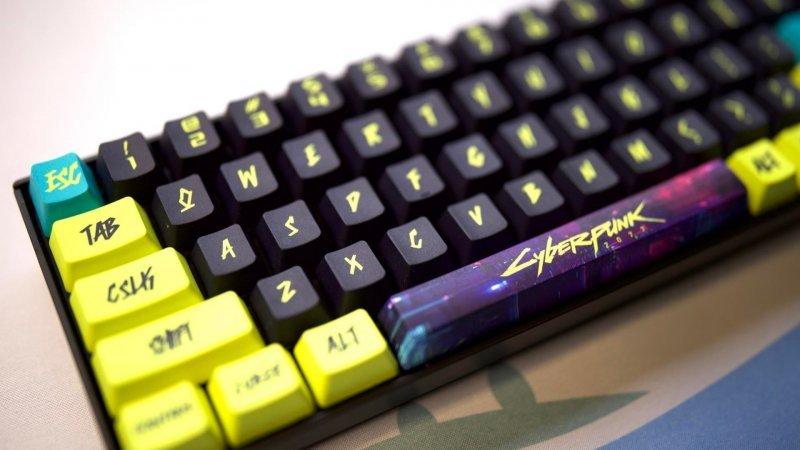 Cyberpunk 2077 keyboard