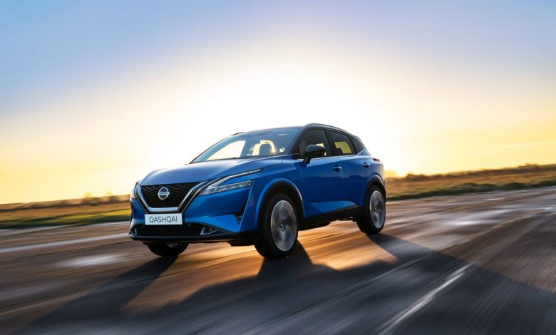 The arrival of the new Nissan Qashqai to the Italian news agency