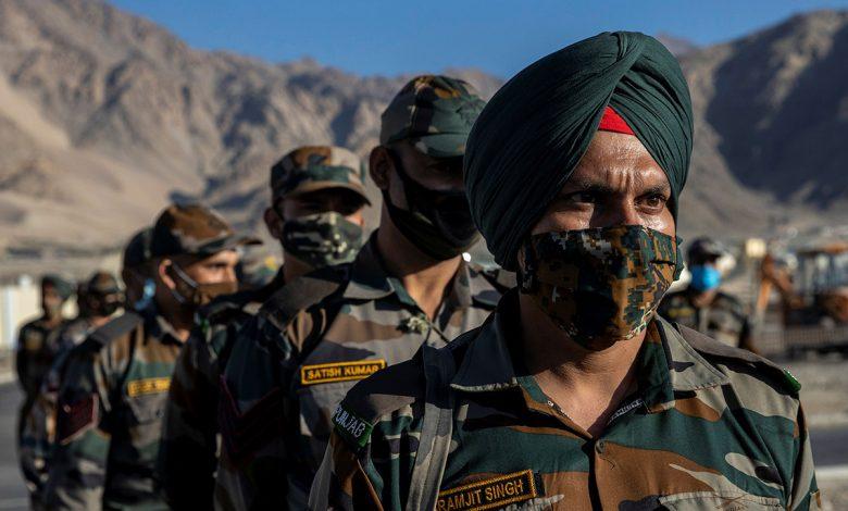 Militari indiani sbarcati in Ladakh