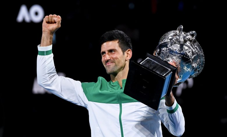 Leader Djokovic aims to set the Federer record