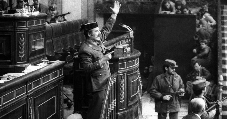 The attempted coup in Spain 40 years ago