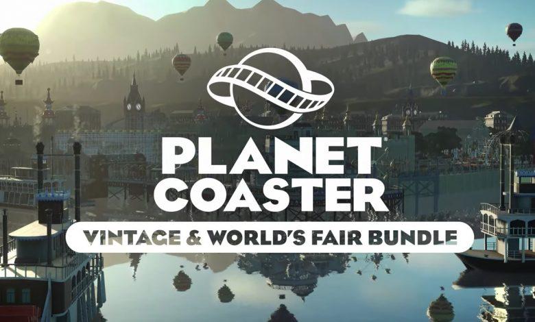 Il Vintage & World's Fair Bundle Arriva per Planet Coaster: Console Edition