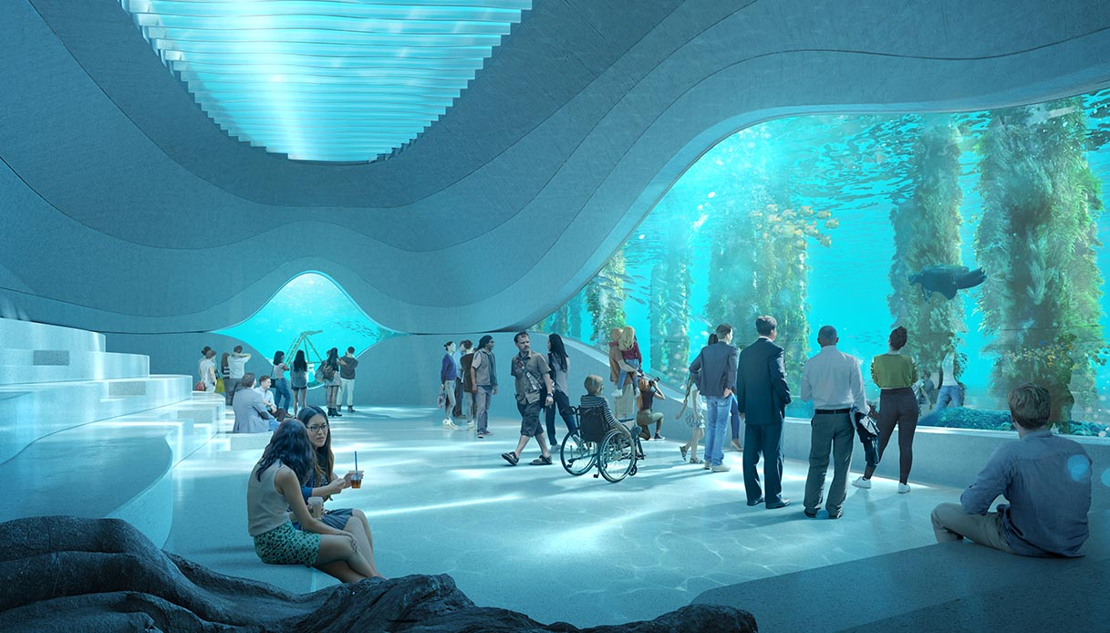 Underwater Discovery Center, International