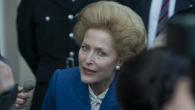 Photo of Gillian Anderson will be Eleanor Roosevelt