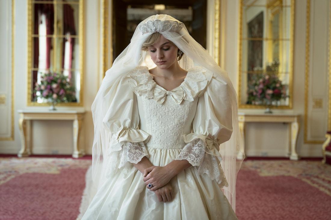The Crown S4.  Photos show: Princess Diana (Emma Corinne)