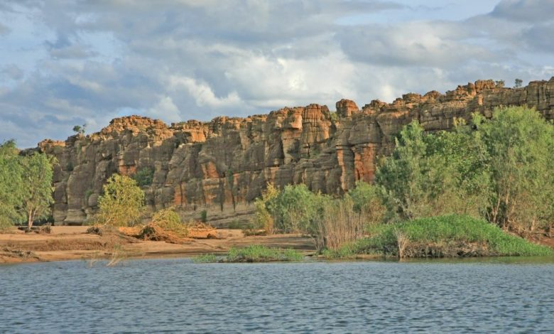 Australia, discovered rock art 17 thousand years ago