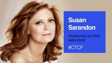 Photo of Che tempo che fa: Guests Susan Sarandon and Ricardo Scamarcio tonight on Rai3