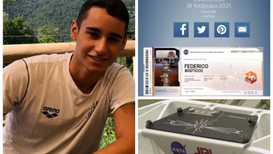 Photo of Embrace on Mars, the name of sixteen-year-old Federico Bustico on the Red Planet – Sanremonews.it