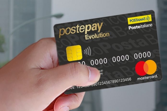 Here are the most used Postepay Evolution scams