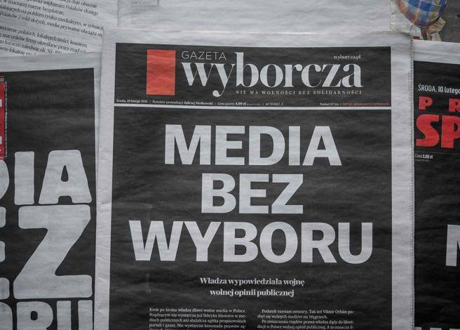 Hungary shuts down the last free radio.  And Poland imposes media taxes on Corriere.it
