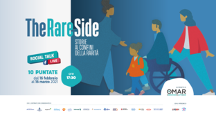 Part # TheRAREside, an online talk show to uncover the unknown side of rare diseases