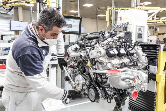 Maserati, il V6 Nettuno nasce così