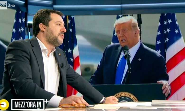 Salvini ally nominates Donald Trump for the Nobel Peace Prize