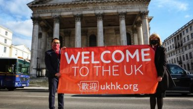 Photo of United kingdom.  A site to help immigrants from Hong Kong