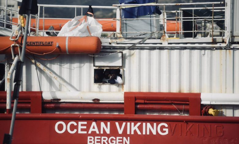 Want to come to our house: Ocean Viking is asking to come down