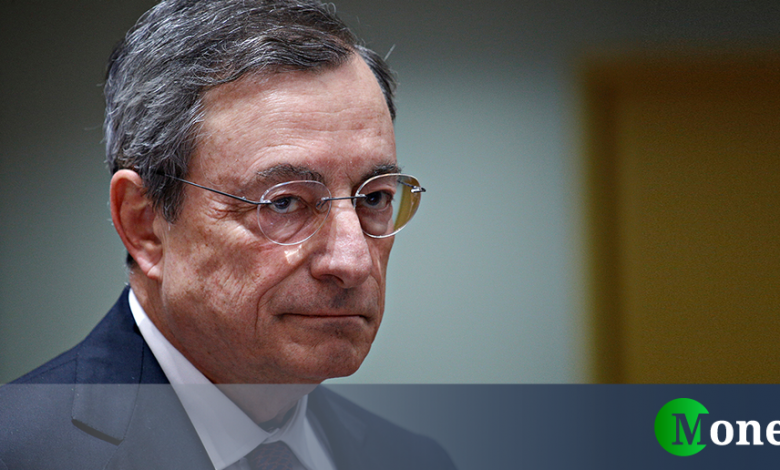 What indicator is cited by Mario Draghi (and why Italy is so bad)