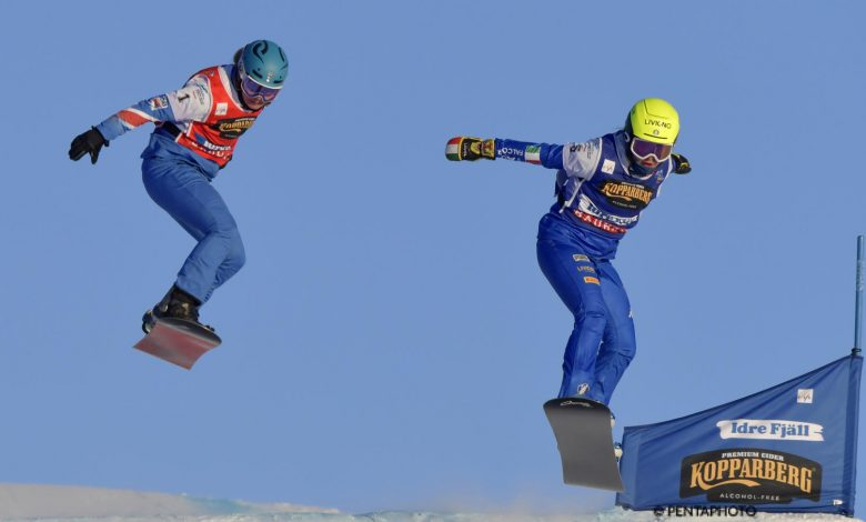 Wonderful silver Lorenzo Somareva and Michela Moioli!  OA Sport