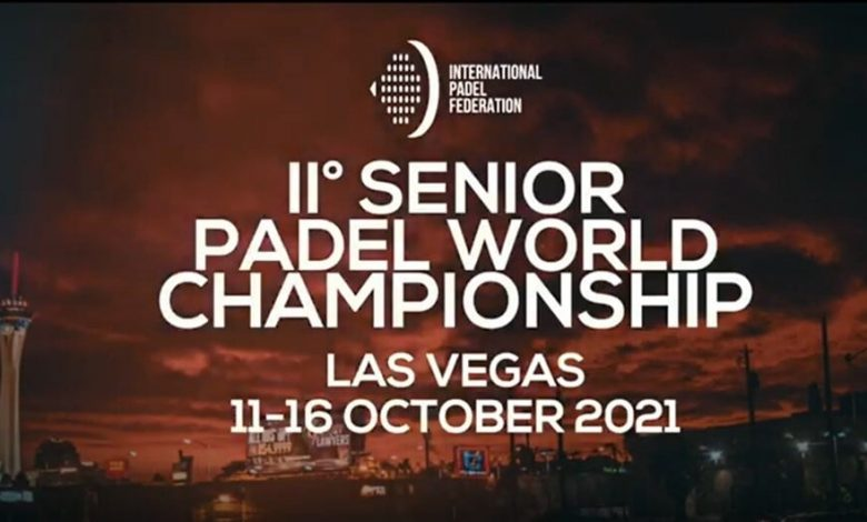 World Senior Championship in October!