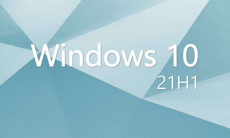Windows 10 21H1: The update is already on our computers