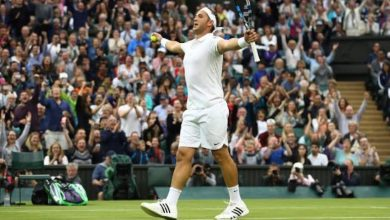 Photo of Anonymously he faced Federer at Wimbledon
