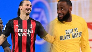 Photo of Ibrahimovic against Lebron has always been a sport policy