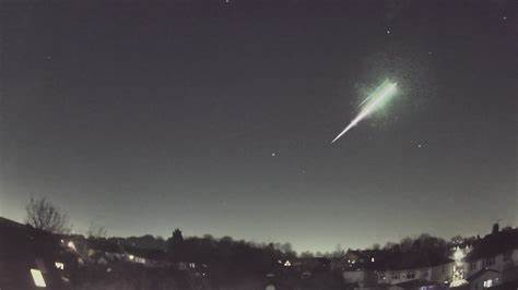 An ancient meteor found in a corridor in the United Kingdom