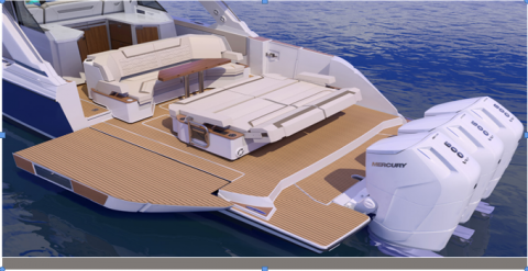 Tiara Yachting: The new model, 48 Luxury Sport, is making its debut