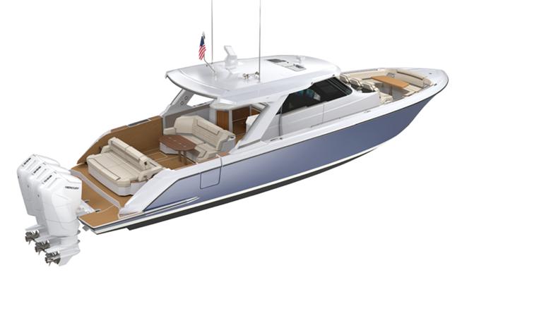 Tiara Yachts: debutta il nuovo modello, 48 Luxury Sport