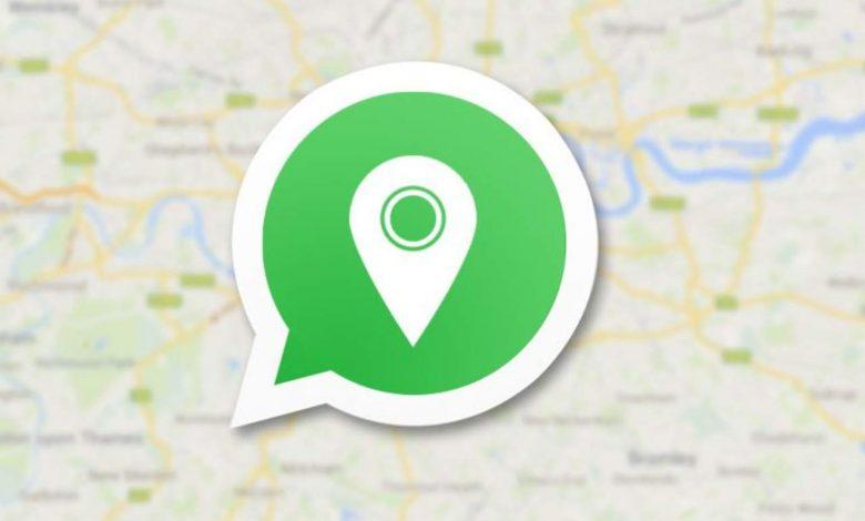 WhatsApp posizione utenti