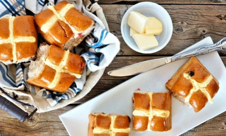 There is no Easter in the UK without a Hot Cross Bun