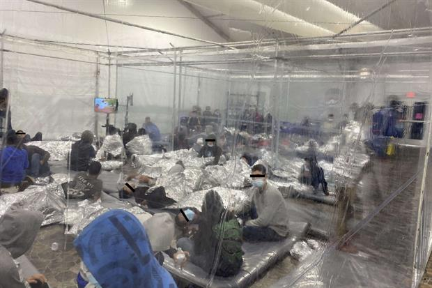 Donna Immigration Center, Texas